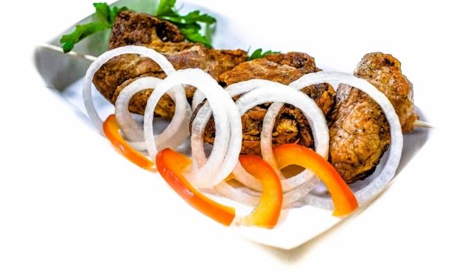 Шашлык из свинины порция